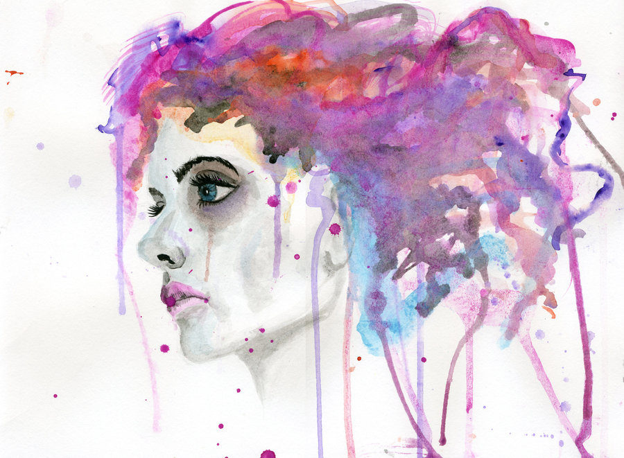 watercolor_woman_by_cnigrelli185-d5i0j0y