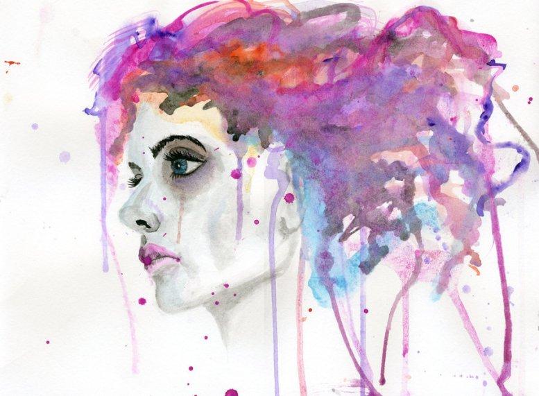 watercolor_woman_by_cnigrelli185-d5i0j0y